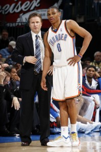 Scott Brooks Oklahoma City Thunder
